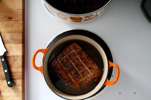 pork belly braise