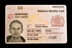 UK National Identity Card (Front)