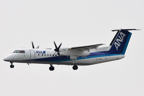 ANA Bombardier DHC8-Q300(JA801K)