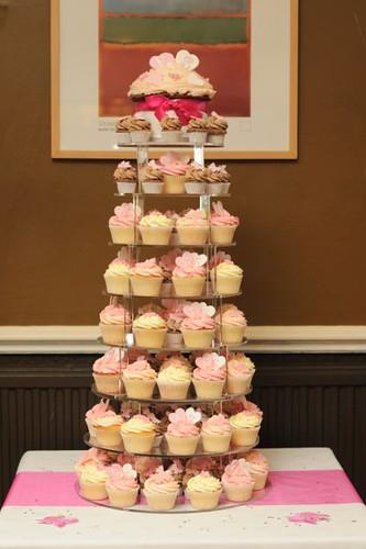 Cirencester Cupcakes - Emily & Steve's Wedding