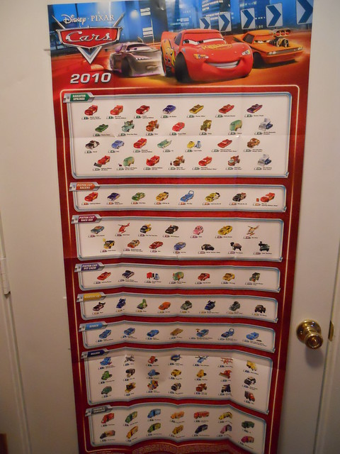 DISNEY CARS KMART COLLECTOR DAY 5 POSTERS (4)