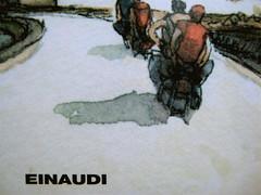 Nicola Lagioia, Riportando tutto a casa, ©Einaudi 2009; alla sovracoperta: disegno di Gipi (part.), 3