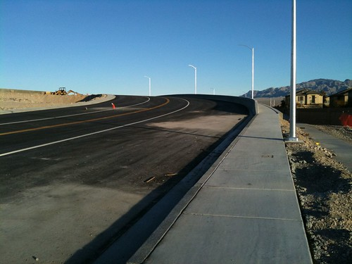 New overpass construction