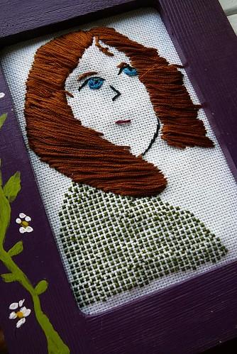 Sandra's Embroidered Art