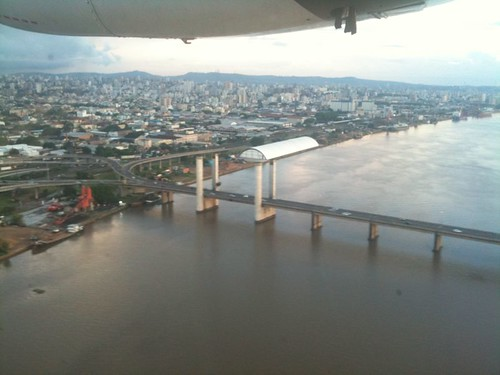 Chegando em Porto Alegre