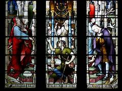 Pharisee and Publican - Tewkesbury Abbey