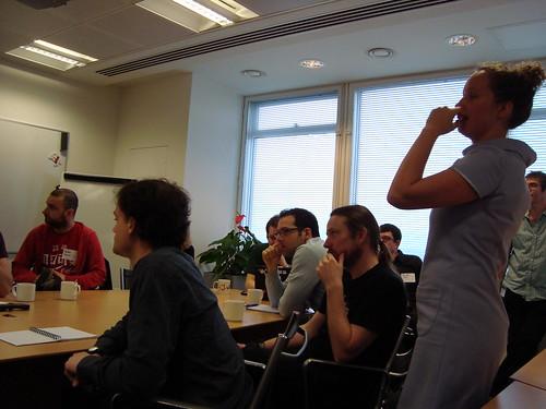 GNOME 2010 UX Hackfest London UK