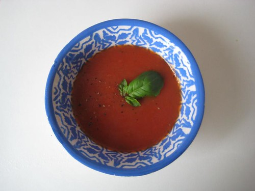 Verse tomatenpuree van kerstomaatjes
