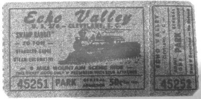 Echo Valley Ticket