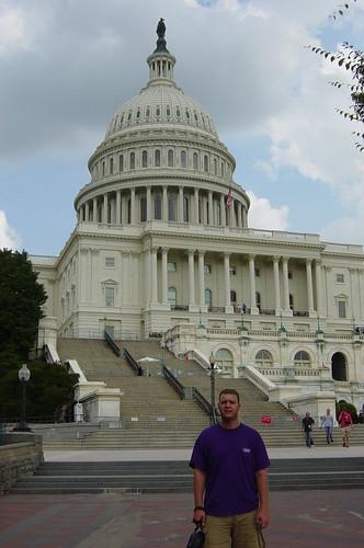 Roni at U.S. Capitol - 2005