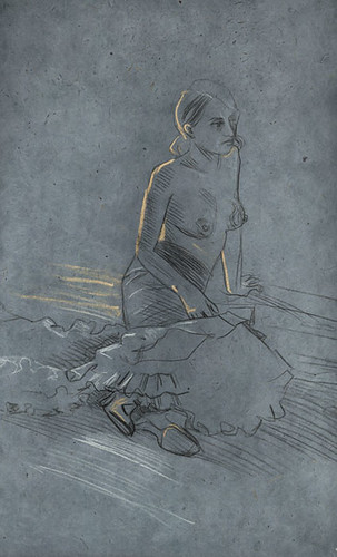 flamenko, sketch