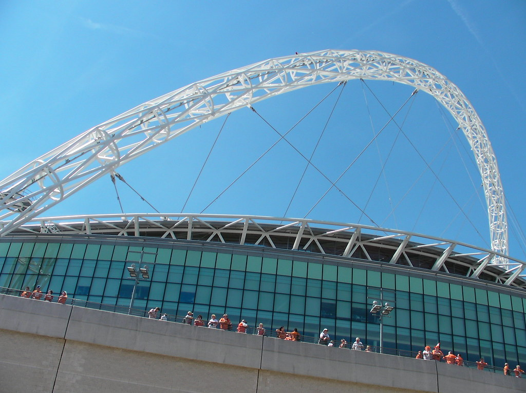 Wembley-Blackpool v Cardiff-Stadium