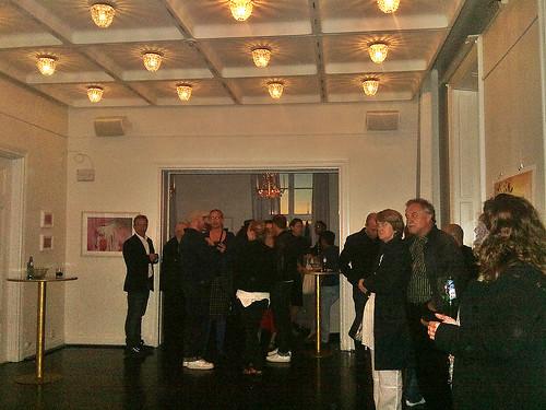 Jonas Rahm vernissage at Södrateatern -1
