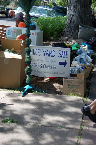 Buddhists have the best yard sales