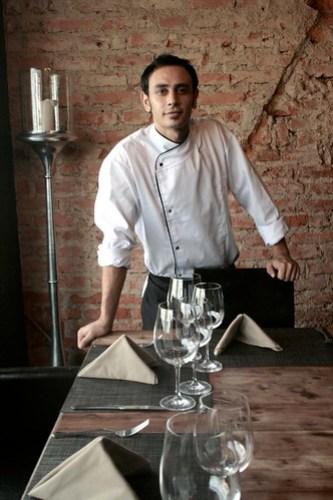 Chef Hernan Caballero