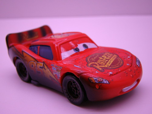 CARS Soaked Lightning mcqueen (2)