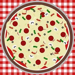 yum yum pizza!