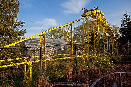 Woodstock Express roller coaster