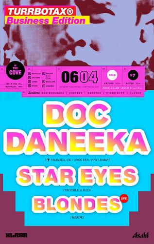 TURRBOTAX®June 2009 Doc Daneeka Star Eyes Blondes Brooklyn XLR8R
