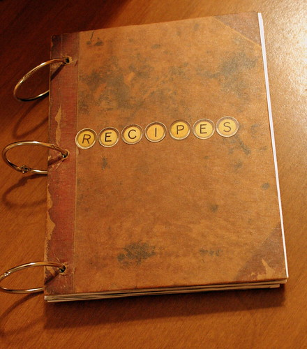 DIY Recipe Book