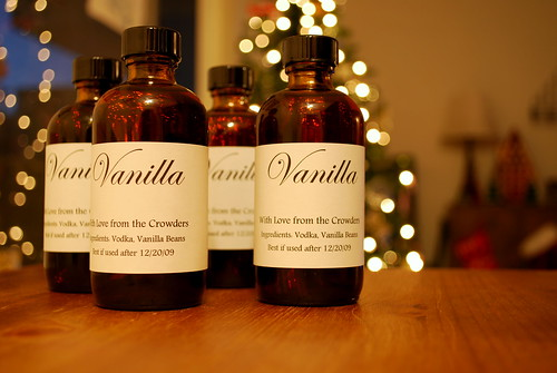 homemade vanilla