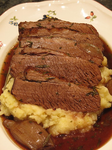 Braised Holiday Brisket
