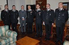 Gioielliere con i Carabinieri