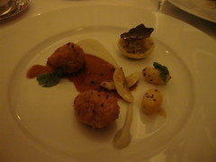 9th Course:  Four Story Hill Sweetbreads