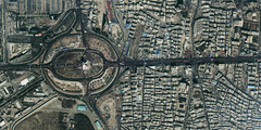 Satellite Image Of Tehran, Iran On 31st Annive...