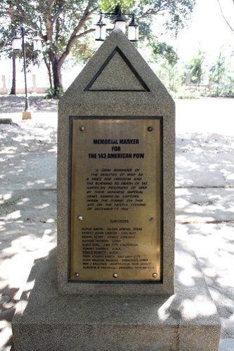 Memorial Marker for the 143 American POW