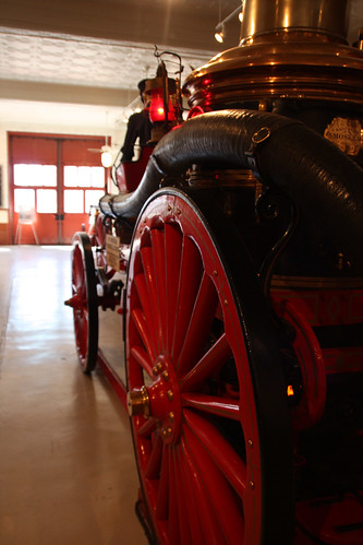 Steam Powered Fire Engine