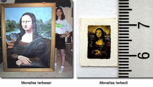 monalisa terbesar, monalisa terkecil, karya unik monalisa, louvre museum, leonardo da vinci, renaissance, La Gioconda, La Joconde, Lisa del Giocondo, florence