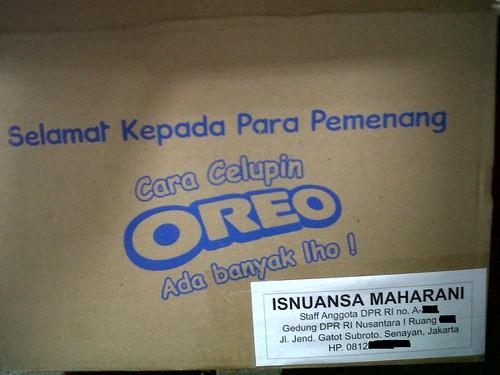 Hanya Oreo