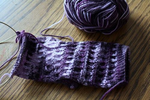 scylla sock in progress