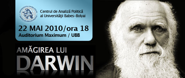 """Conferința """"Amăgirea lui Darwin"""" cu dr. Emil Silvestru"""