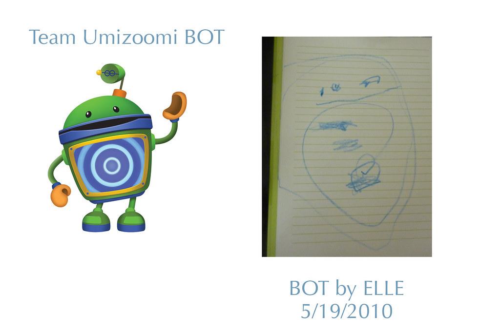 Team Umizoomi Bot