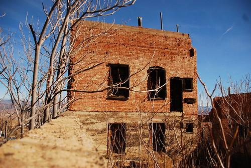 abandonded house, Jerome AZ