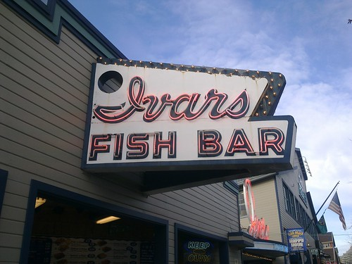 Lunch at Ivars