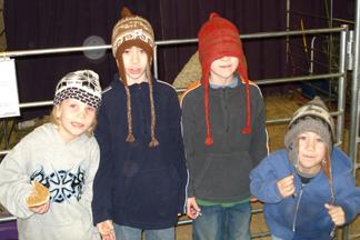 alpaca hats!