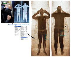 Airport Full Body Scan inverted = nude image?