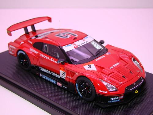 EBBRO HASEMI TOMICA EBBRO GT-R 2009 RD 1 (3)