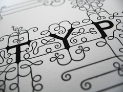 Typoretum sample package - typography print