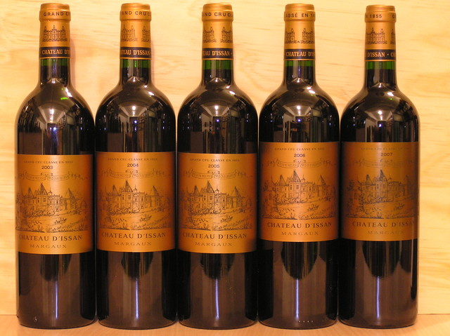 Chateau d'Issan Vertical