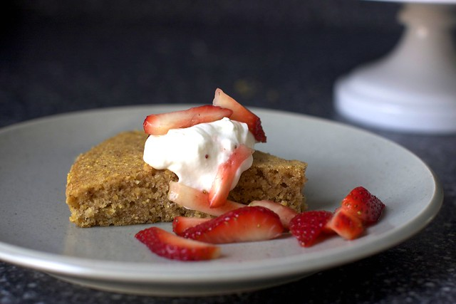 pecan cornmeal butter cake – smitten kitchen