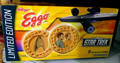 Le'ggo my Star Trek Eggos!