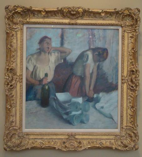 Degas - Laundress