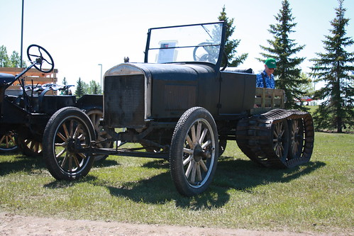 Ford Model T tractor conversion