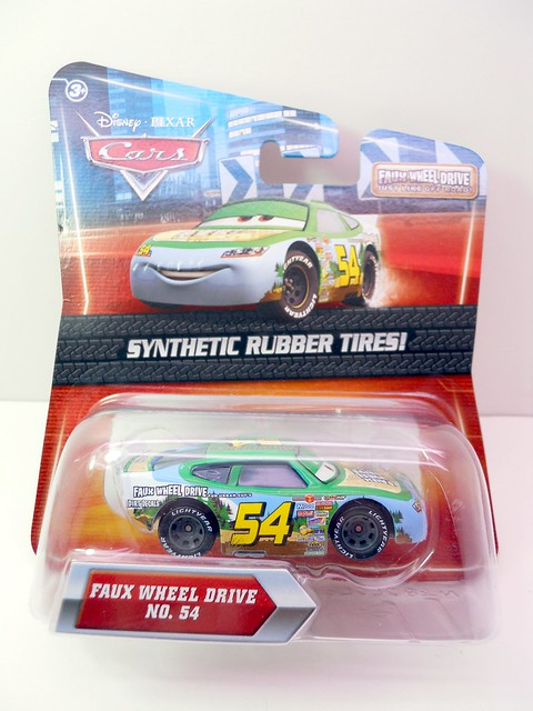 DISNEY CARS KMART COLLECTOR DAY 5  FAUX WHEEL DRIVE (1)