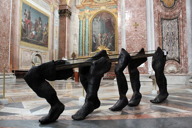 Inside Santa Maria degli Angelo