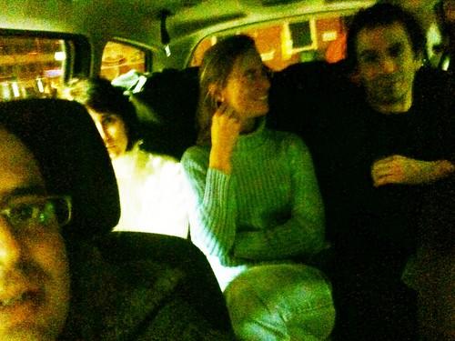 Taxi chungo para ir a Tignes